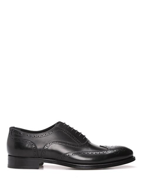 Beymen Collection %100 Deri Oxford Ayakkabı Siyah